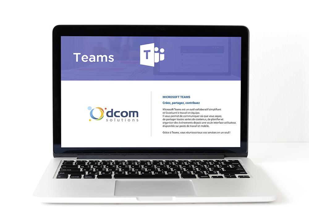 Microsoft Teams : la solution qui favorise le travail d'équipe