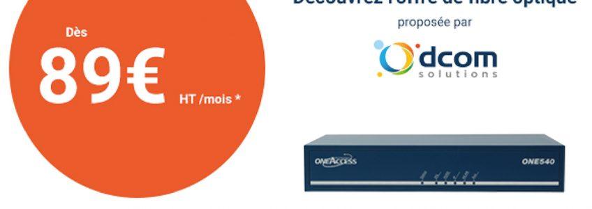 Découvrez notre offre de fibre optique