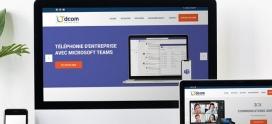 Le nouveau site de Dcom-Solutions est en ligne